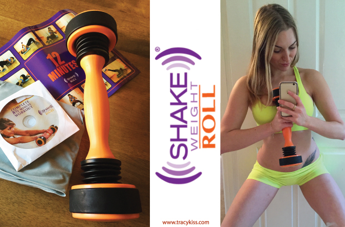 Shake Weight Roll Complete Upper Body Workout