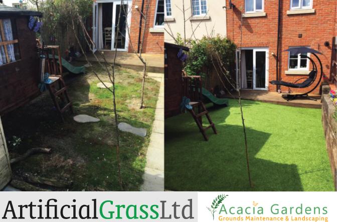 Artificial Grass Has Transformed Our Garden