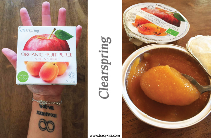 Clearspring Organic Apple & Apricot Fruit Puree