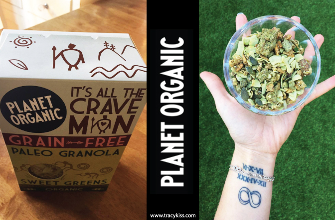 Planet Organic Paleo Granola Sweet Greens