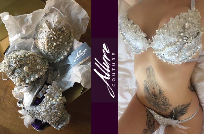 Allure Couture Bespoke Swarovski Crystal Bikini