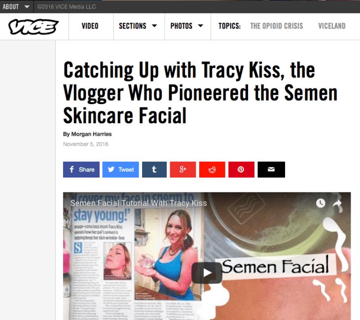 Tracy Kiss COED