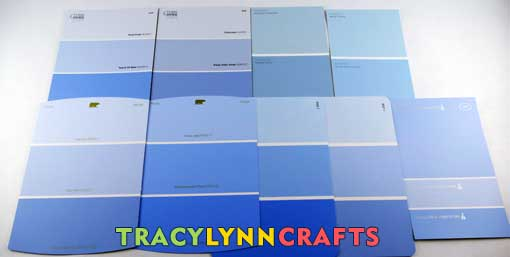 Craft room organization designing - choosing paint colors