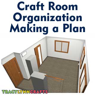 Craft Room Organization   Stage 1   The Starting Point   Tracy Lynn Crafts