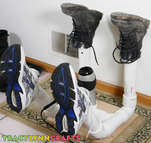 Final Boot Dryer with boots and shoes