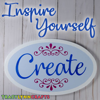 Inspire yourself by making this Create sign for your crafting area