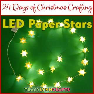 Deck the Halls with the LED Paper Stars