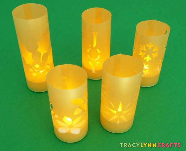 Your luminaries are ready to decorate your home