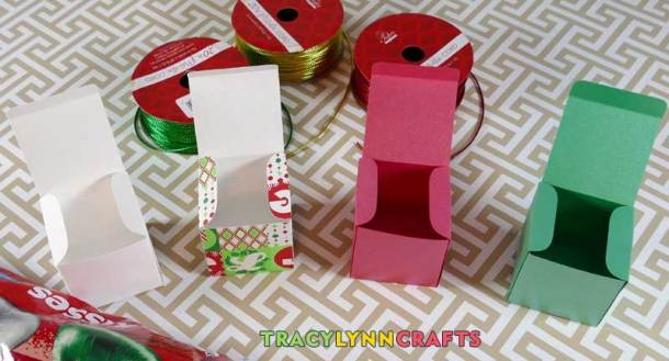 The gift boxes are now ready to be filled