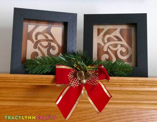 "You can make these ""Joy"" plaques from wood veneer or any other stiff material"