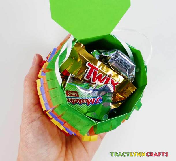 Fill your Cinco de Mayo mini pinata with treats