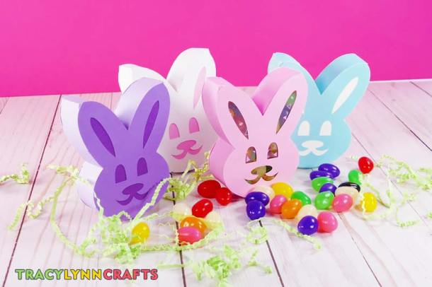 Complete set of Easter bunny boxes