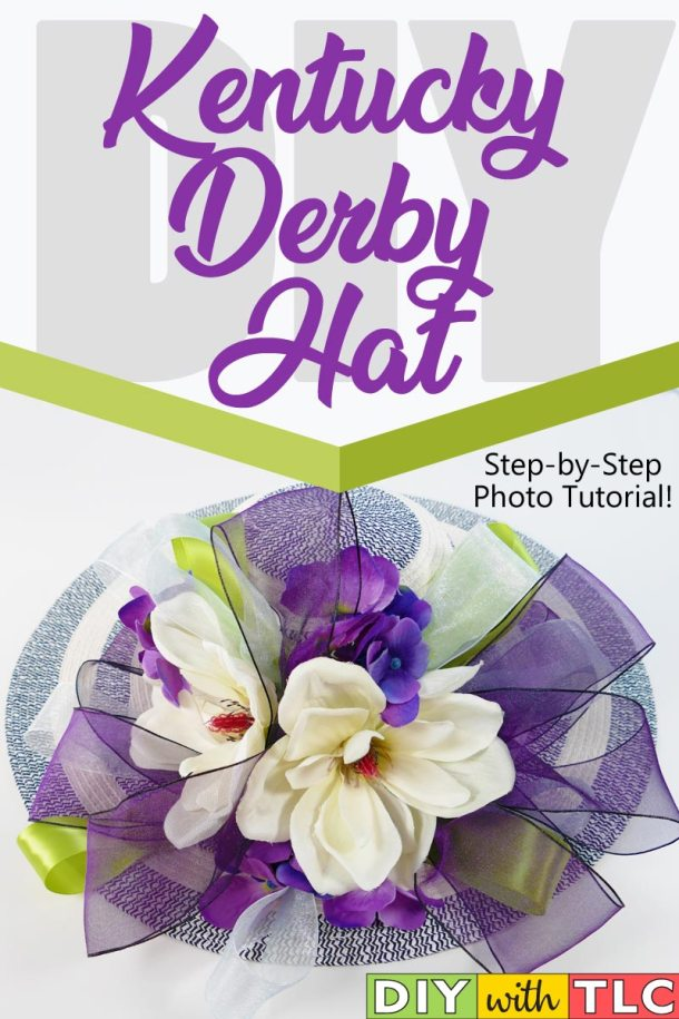 Whether you attend in person who attend a watch party, you can learn to make a Kentucky Derby Hat and be a part of the Greatest Spectacle on Earth!
