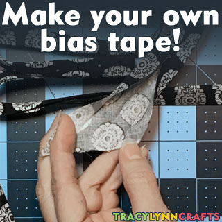 You can make your own bias tape!