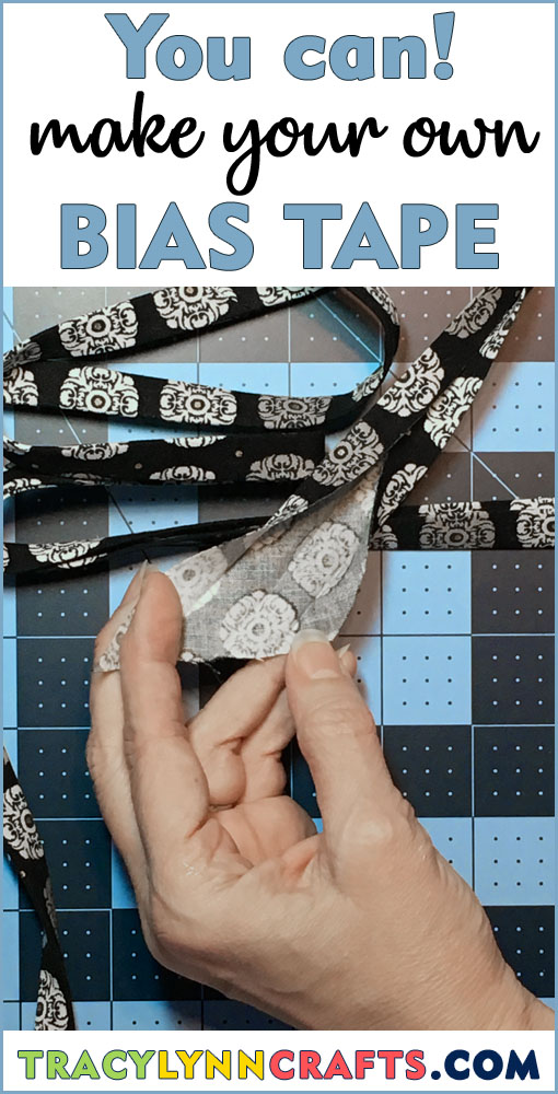 It's easy to make your own bias tape by following these step-by-step instructions | #diy #bias_tape #bias #binding #fabric_crafts