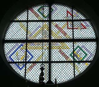 De kerkramen van Jan Dibbets