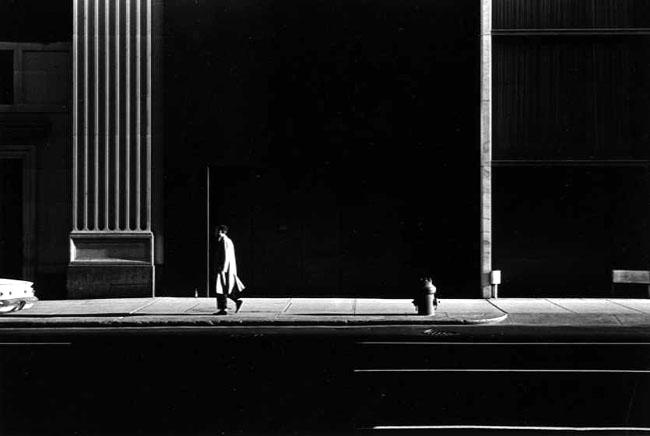 Poëzie van de stad  in zwart-wit