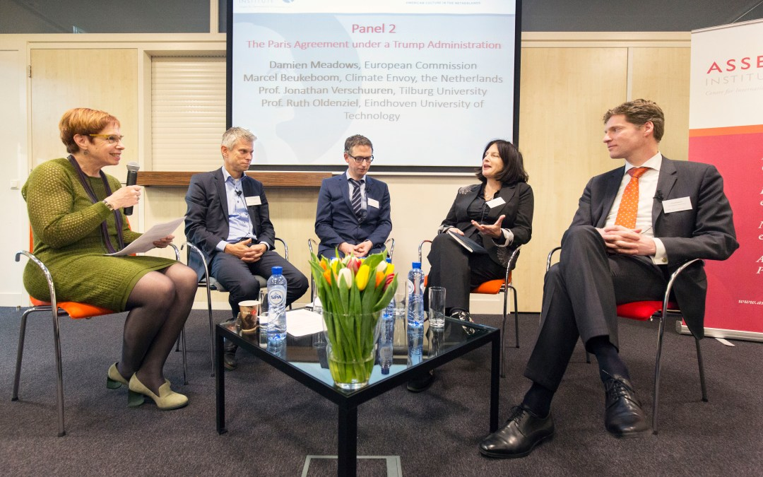 Moderator conference 'Trump's World'  at Asser Institute