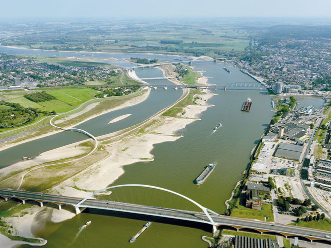 De stad in Spraakmakers: Hoog water