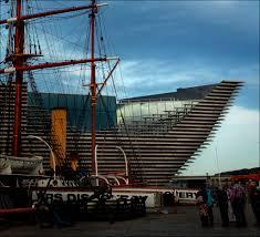 Kengo Kuma's V&A voor Dundee  is een loodzwaar schip