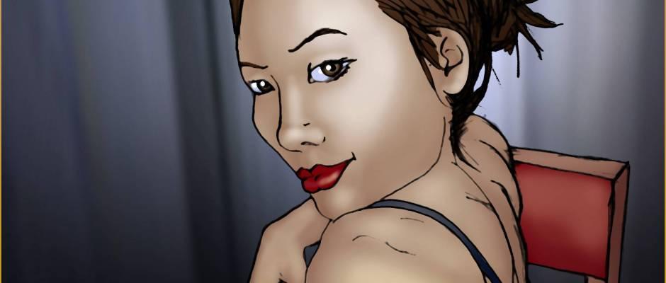 Tracy Queen - 2009/11/06 - Blog Selfie