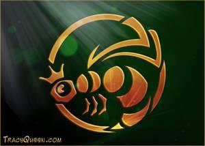 Tracy Queen - 2010/01/02 - Shiny metal Bee Logo