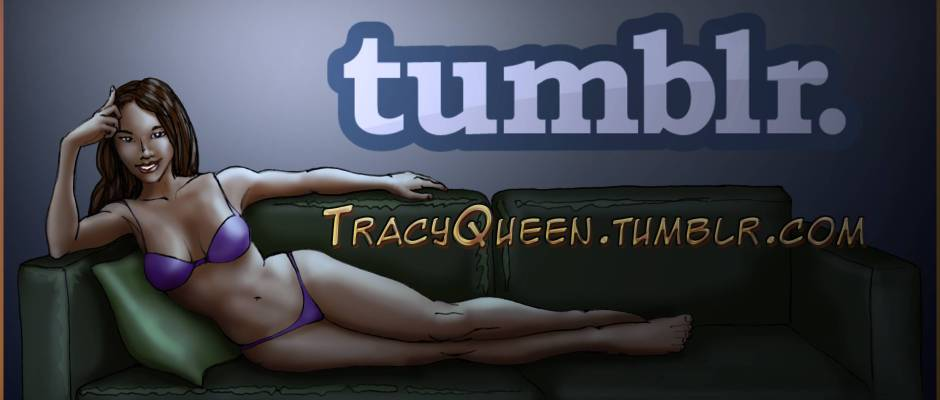 Tracy Queen - tumblr.com - Logo Banner - Web