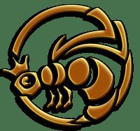 Tracy Queen - Illustrated Golden Queen Bee Logo