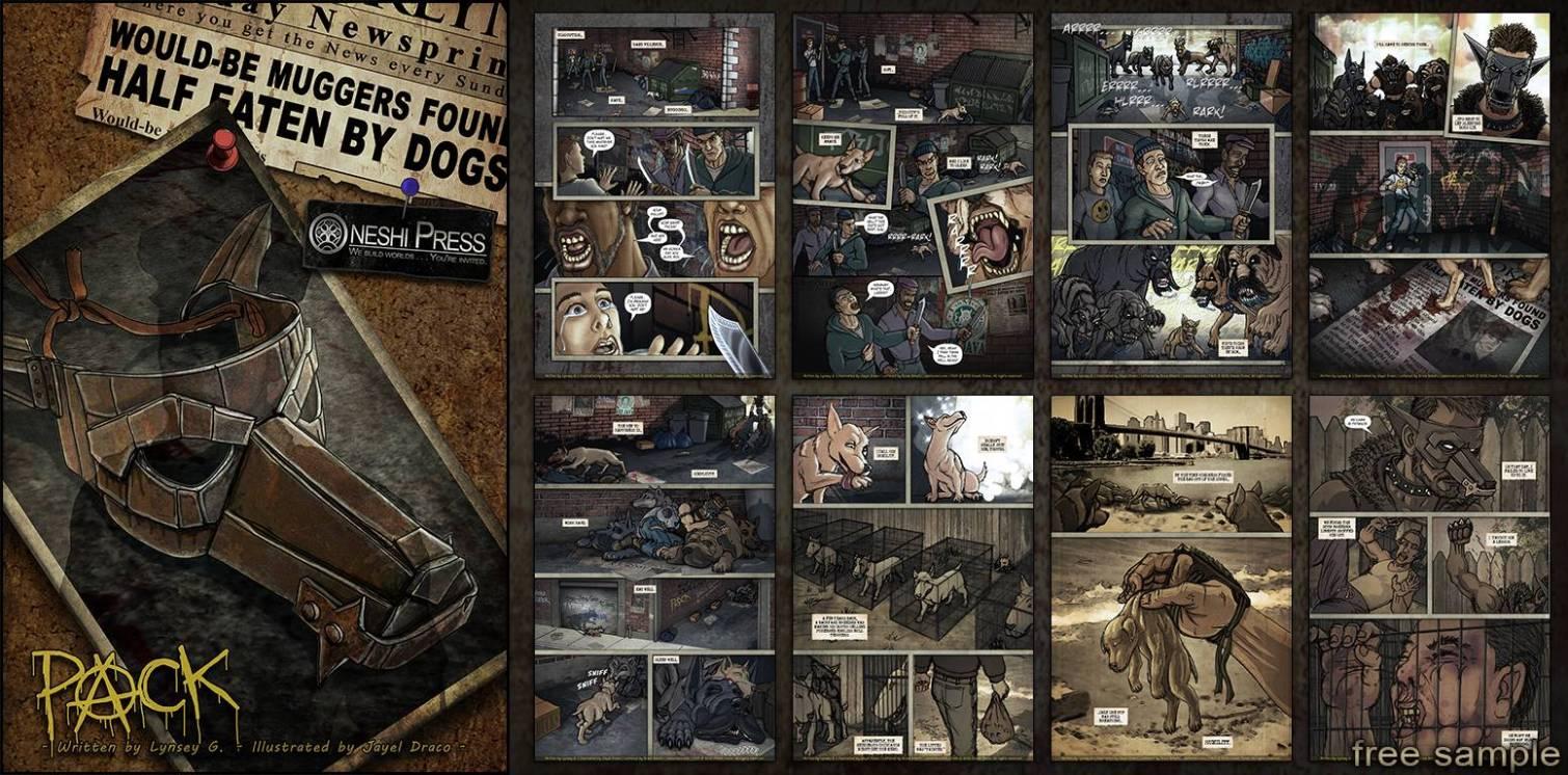 Oneshi Press - PACK comic book free .pdf sample - Banner