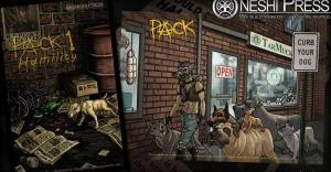 patience dogs of virtue dog pack comicbook oneshi press tracy queen