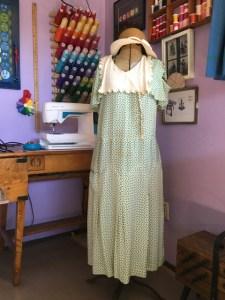 Depression Era Dress Replica and Study Tracy McElfresh