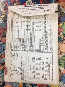 Simplicity 1483 Toddler Shirt Jacket Pants Suspenders Overalls Playsuit 1950s Vintage Pattern