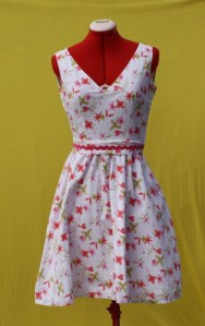 Wedding Cake 1950s Inspired Dress by Tracy McElfresh