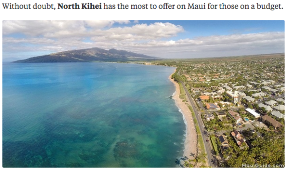 kihei maui vacation rentals
