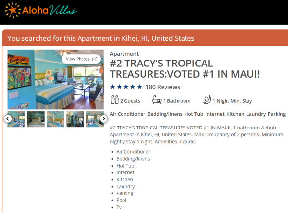 #1 vacation rentals maui hawaii