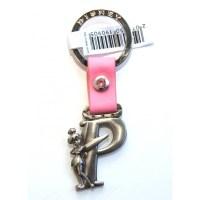 Disneyland Paris Tinker Bell Letter initial P keyring
