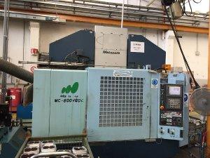 Makinate   Used Matsuura MC 800 VFDC 5 axis machining center M1701718785 1