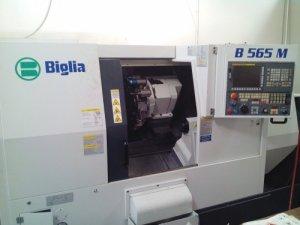 Makinate | Used Biglia B565 M Lathe with live tooling 1