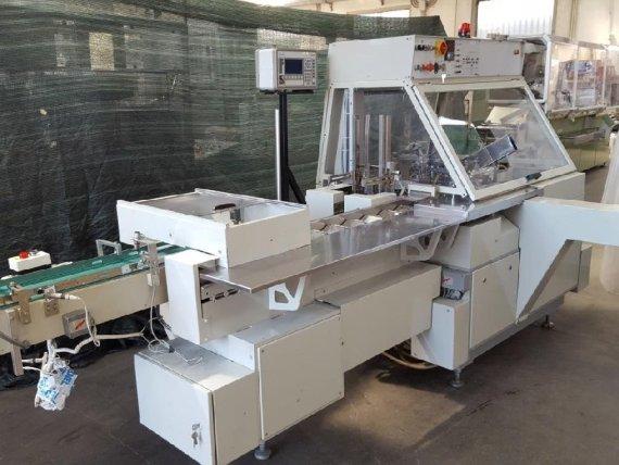Makinate | Used Marchesini BA 50 horizontal cartoning machine