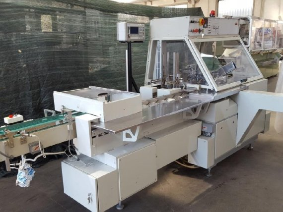 Makinate | Used Marchesini BA 50 horizontal cartoning machine