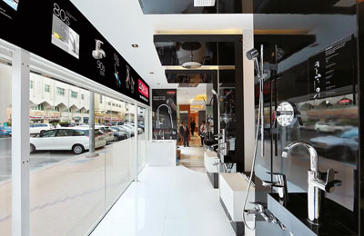 delta faucet opens showroom in abu dhabi