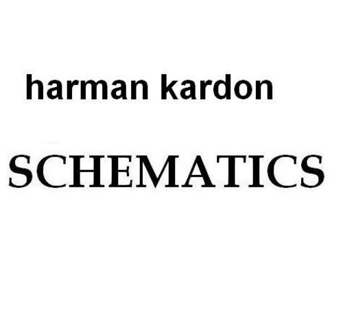 Harman Kardon Citation-X-I Schematics for repair-service