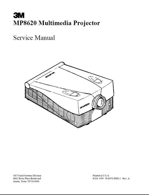 Free BENQ DLP Projector PB8250 Service Manual Download