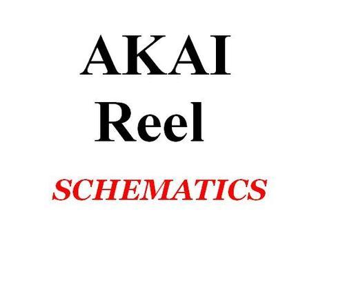 Akai M-4 Terecorder Multi-Four reel to reel , Schematic