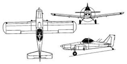 Piper PA-36 Pawnee Brave service manual 285 300 375