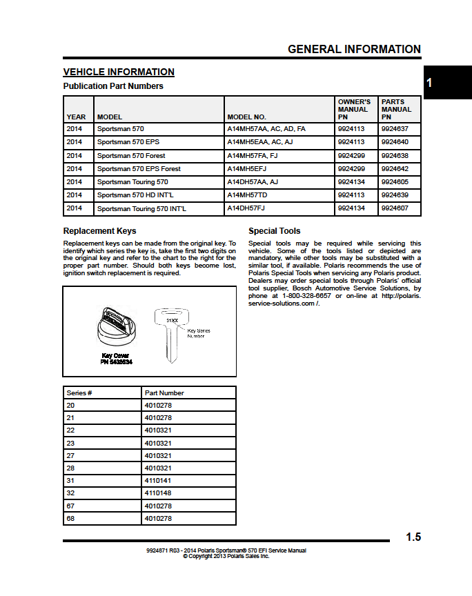 Polaris Sportsman 570 Efi Owners Manual Pdf Download