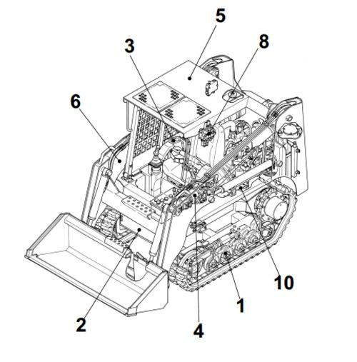 Takeuchi TL26 Crawler Loader Parts Manual Download