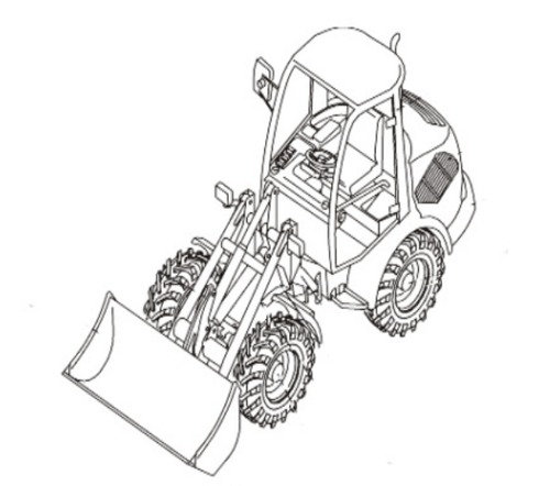 Takeuchi TW50 Wheel Loader Parts Manual Download (Serial