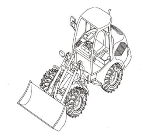 Takeuchi TW50 Wheel Loader Parts Manual Download (Serial