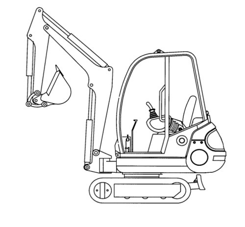 GEHL 192, 222 Mini-excavator Illustrated Master Parts List